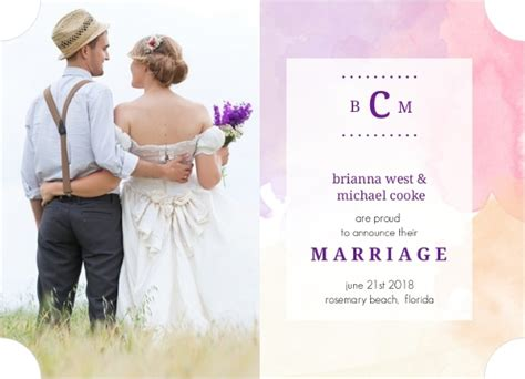 Wedding Announcement Wording Ideas by Unconventional Wedding Announcement Wording Ideas And