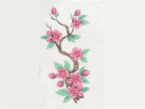 image gallery japanese flower tattoo flash