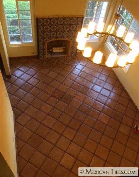 spanish for floor mexican tile 12x12 spanish mission red terracotta floor tile