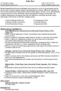 Resume Samples Loan Processor by Loan Officer Resume Images