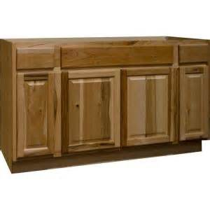 Home Depot Kitchen Sink Cabinet Hton Bay Hton Assembled 60x34 5x24 In Sink Base Kitchen Cabinet In Hickory Ksb60