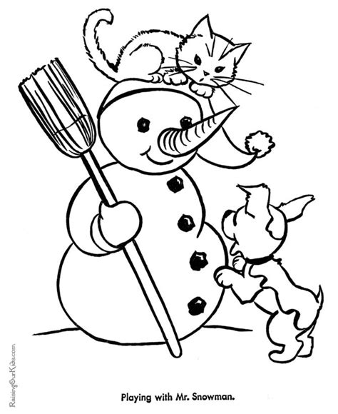 christmas coloring pages kitty 88 best images about coloring pages on pinterest