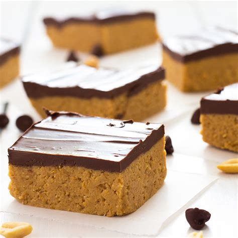 peanut butter bars with chocolate on top no bake chocolate peanut butter bars the blond cook