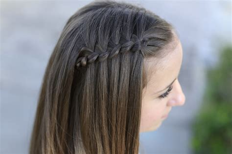 pictures of cute hairstyles with braids all around with black people how to create a 4 strand waterfall braid cute girls