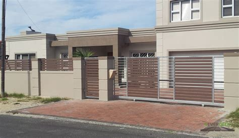 Beautiful Garage Doors In South Africa - wall fence designs for homes in south africa flisol home