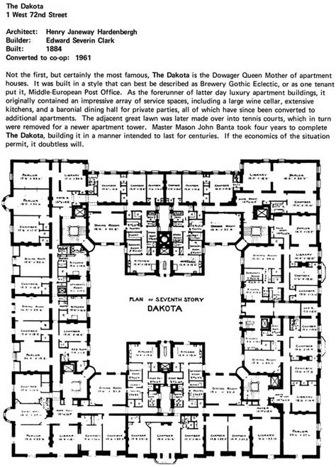 the dakota floor plan 17 best images about the dakota on pinterest building