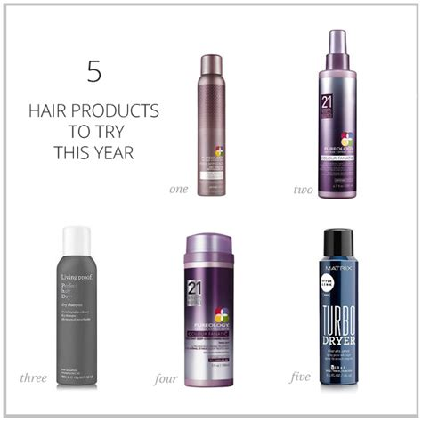 5 Things To Try This New Year by 5 Hair Products To Try This Year The Small Things