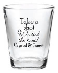 Wedding favor glass shot glasses personalized new 2017 2018 wedding