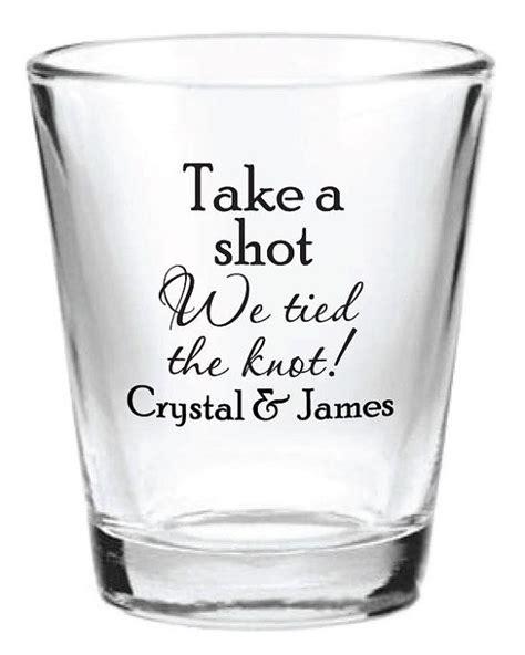 Wedding Favors Glasses by Wedding Glasses 144 Custom 1 5oz Wedding Favor Glass