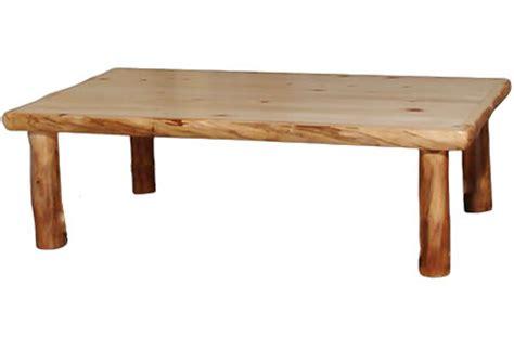 Rustic Log Coffee Table Coffee Tables Rustic Log