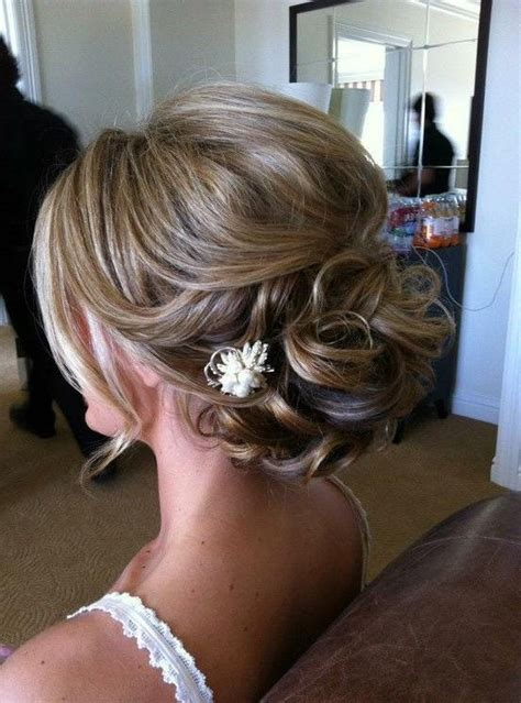 Wedding Hair Updo For by 15 Photo Of Wedding Updos For Thin Hair