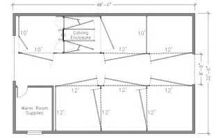Barn Layouts by Calving Barn Designs Hi Hog