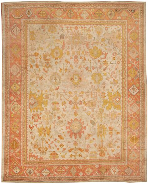 antique oushak rug antique oushak turkish rug 44492 for sale antiques classifieds