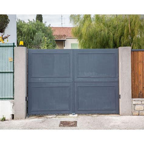 Portail De Maison En Fer by Portail Cloture Fer 224 Prix Usine Portails Fer Coulissants