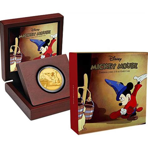 the silver box the silver box series books 1 4 oz proof gold mickey mouse fantasia series coins