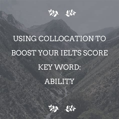 increase your promotion test score 30 books using collocation to boost your ielts score key word