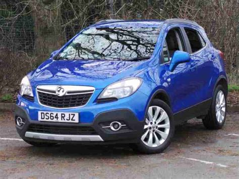 vauxhall blue vauxhall mokka 1 4 16v turbo se 5dr 4wd boracay blue car