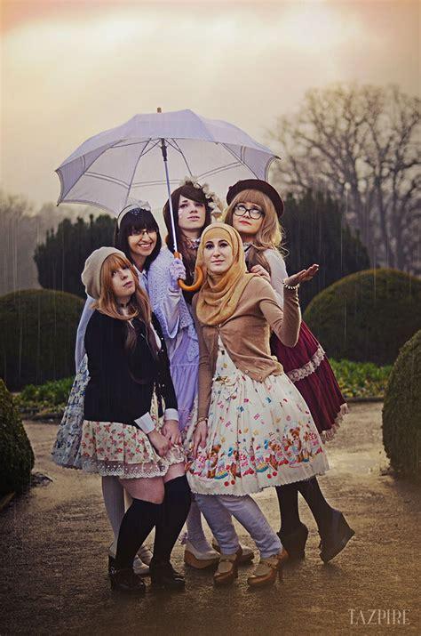 dress katun jepang cherist muslim fashion is a new trend inspired by japan