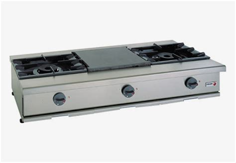 Gas Countertop Range by Non Modular Cooking Gas Countertop Ranges For Catering