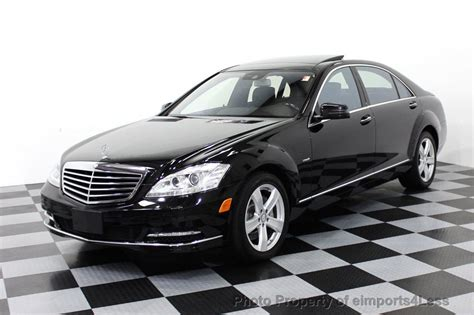 2012 mercedes s class 2012 used mercedes s class certified s550 4matic awd