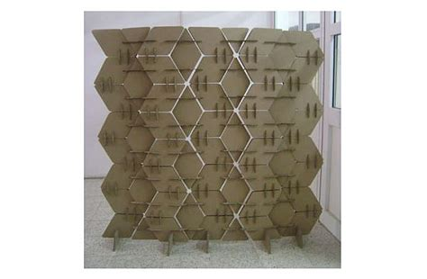 cardboard room divider how to make your own cardboard room divider hometone
