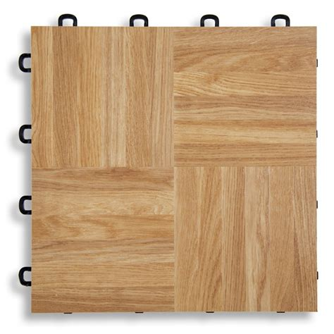Interlocking Wood Floor by Interlocking Floor Tiles Oak Vinyl Top
