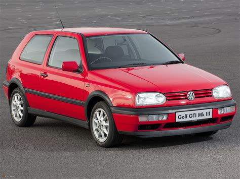 97 Volkswagen Golf by Wallpapers Of Volkswagen Golf Gti Uk Spec Type 1h 1992
