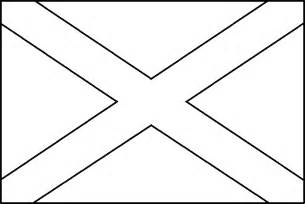 Coloring Picture Of Scotland Flag Fiar Wee Gillis Scotland Flag Coloring Page