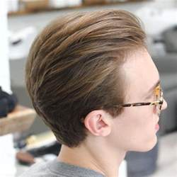 single level haircut with tapered ends the taper haircut