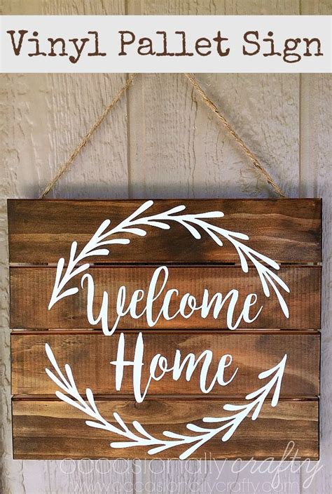 1000 ideas about welcome home signs on front