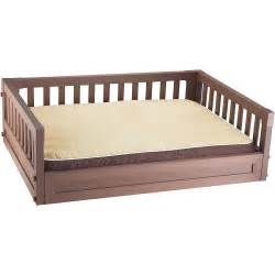 elevated pet bed russet in pet beds