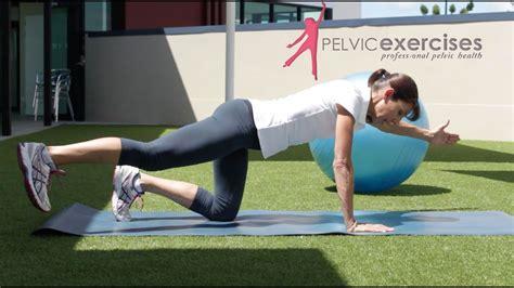 osteoporosis exercises advanced core workout youtube