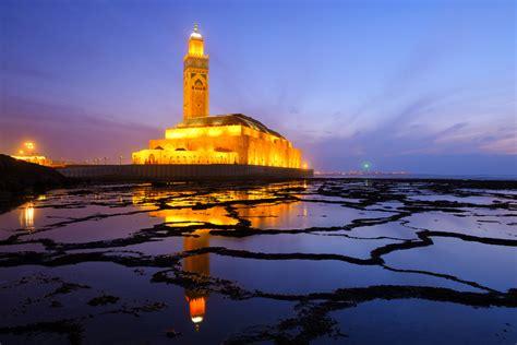citta e porto marocco casablanca marocco