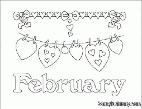 february coloring sheets printable pictures to pin on