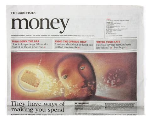 the times money section showcase three