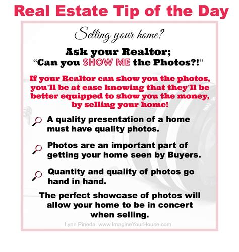 i want to be a realtor ask your realtor can you show me the photos