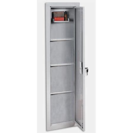 stack on iwc 55 length in wall gun storage cabinet