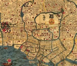 edo tokyo 1844 1848 perry casta 241 eda map collection