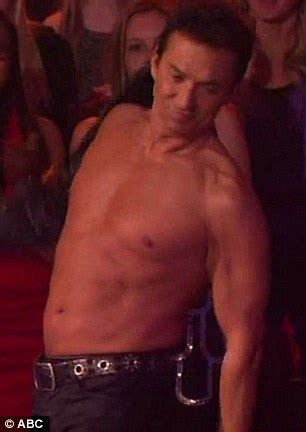 Dancing with the stars 2013 bruno tonioli strips off studded leather
