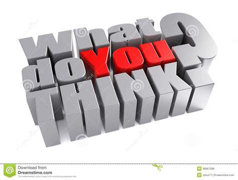 Wat Is Abstract Denken by 3d Wat U Onderzoeksvraag Denken Royalty Vrije Stock Foto S