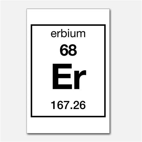 er element periodic table periodic table erbium postcards periodic table erbium