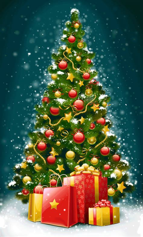 animated christmas tree images gif animations 9to5animations