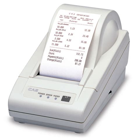 Printer Thermal cas dep 50 thermal printer ticket receipt barcodes cas nz