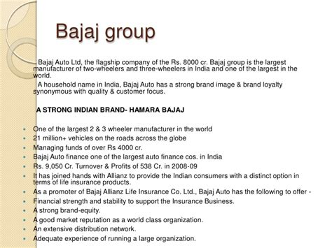 Bajaj Finance Welcome Letter presentation1