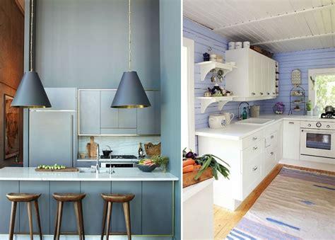 foto cocinas azules de miriam marti  habitissimo