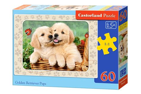 golden retriever puzzles puzzle golden retriever castorland b 06786 60 pi 232 ces puzzles chiens planet puzzles