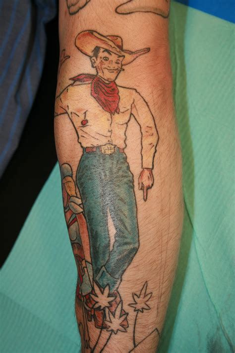 cowboy tattoos 22 cool cowboy tattoos desiznworld