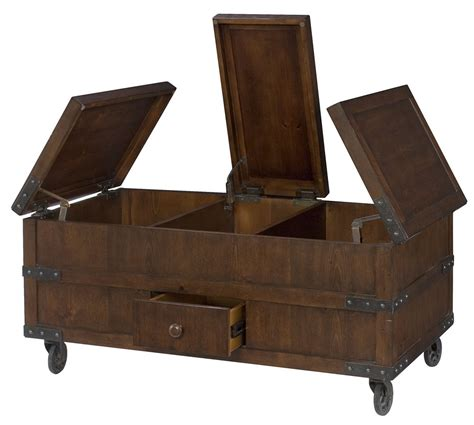 Trunk Coffee Table Set Hammary Treasures 2 Trunk Coffee Table Set Beyond Stores