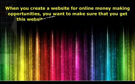 Online Money Making Opportunities - the best online money making opportunities popscreen