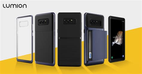 get ready for the galaxy note 8 with these cases from